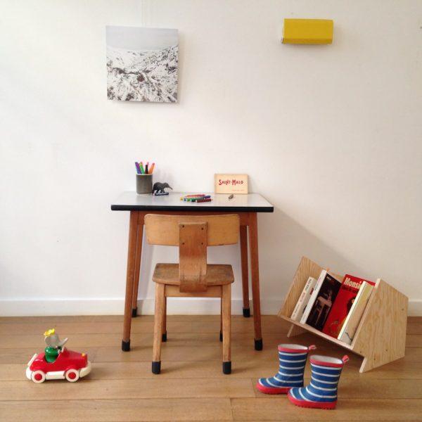 Table Et Chaise Enfant Bois Formica Mini