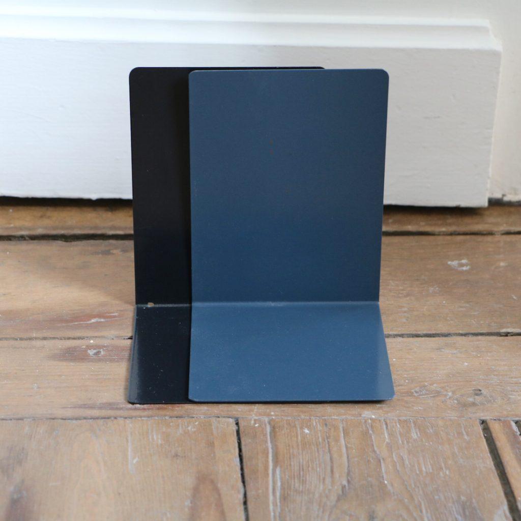 Paire de serre-livres colorés grand format