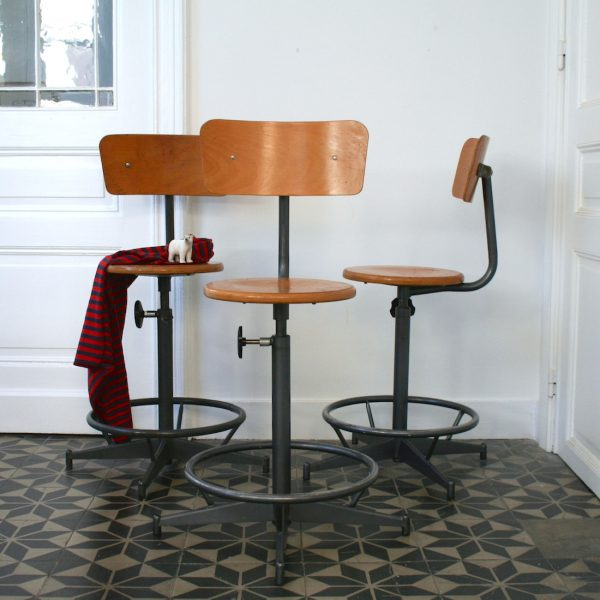 Chaise Bar Architecte Vintage 2