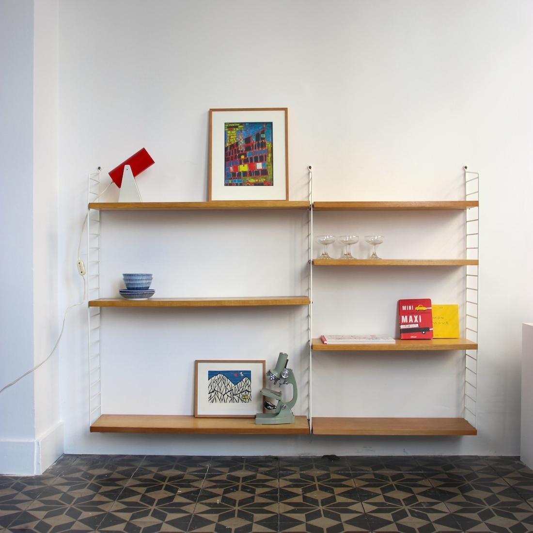 double tag re string vintage la maison bruxelloise. Black Bedroom Furniture Sets. Home Design Ideas