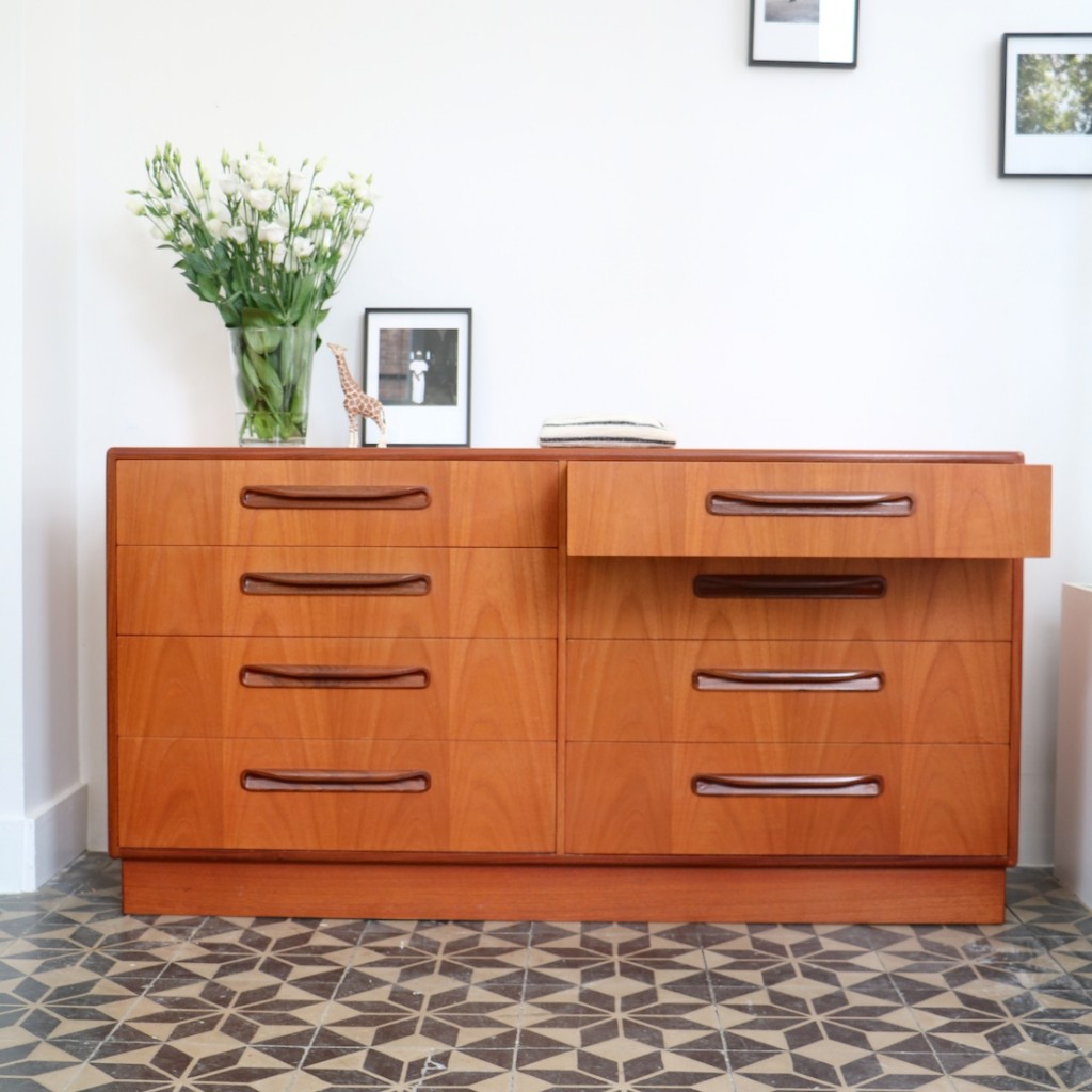 Double commode scandinave