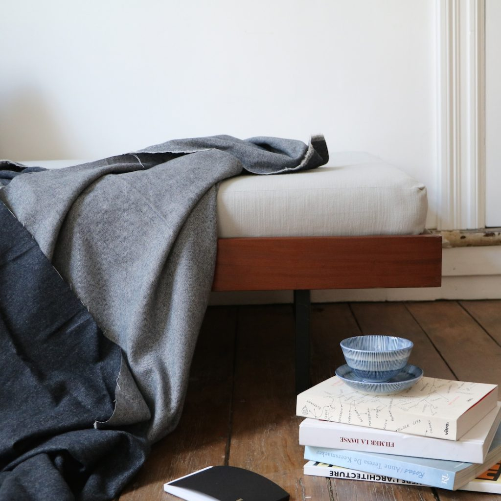 Daybed gris clair