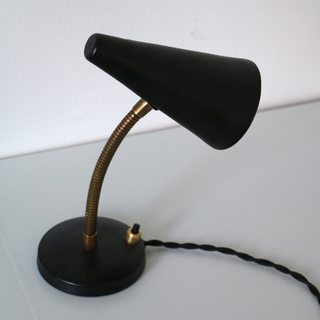 Paire de lampes de chevet '50
