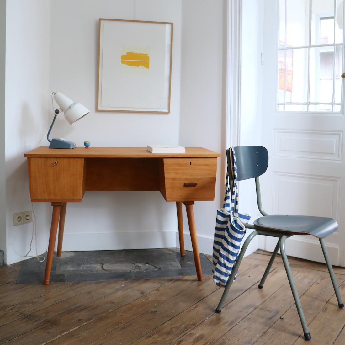 bureau recto verso 50 la maison bruxelloise. Black Bedroom Furniture Sets. Home Design Ideas