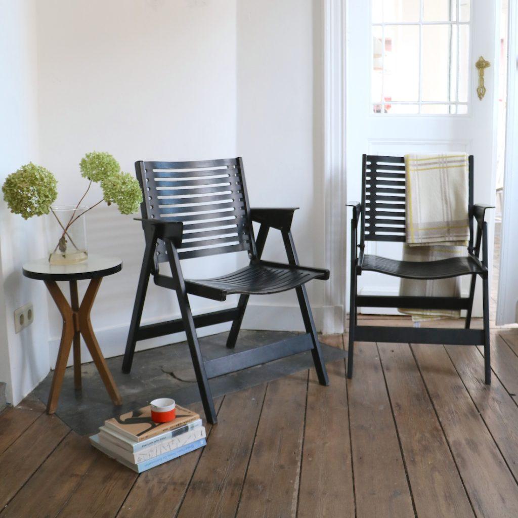 Rex Chair noire