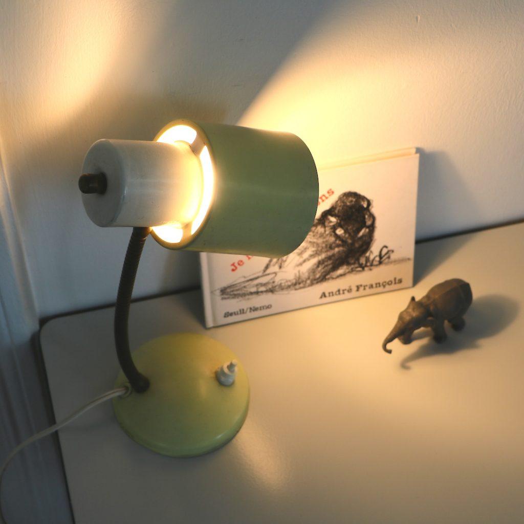 Lampe à poser Anvia jaune