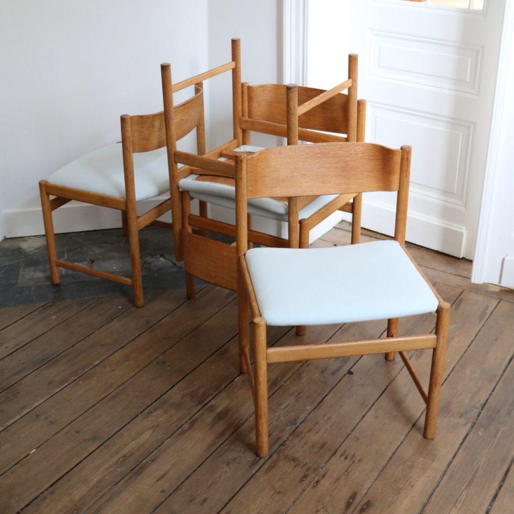 Série de 4 chaises Pastoe