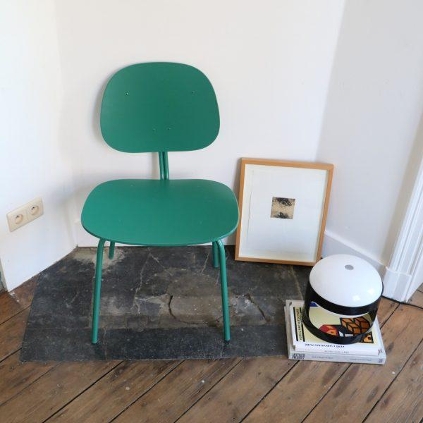 Chaise verte la maison bruxelloise for 18 rue de la chaise