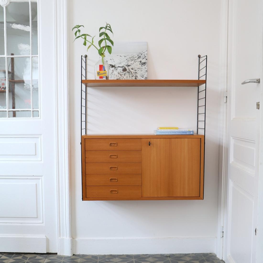 tag re armoire string la maison bruxelloise. Black Bedroom Furniture Sets. Home Design Ideas