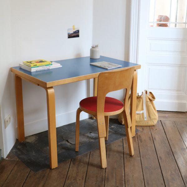 Bureau Et Chaise Alvar Aalto La Maison Bruxelloise