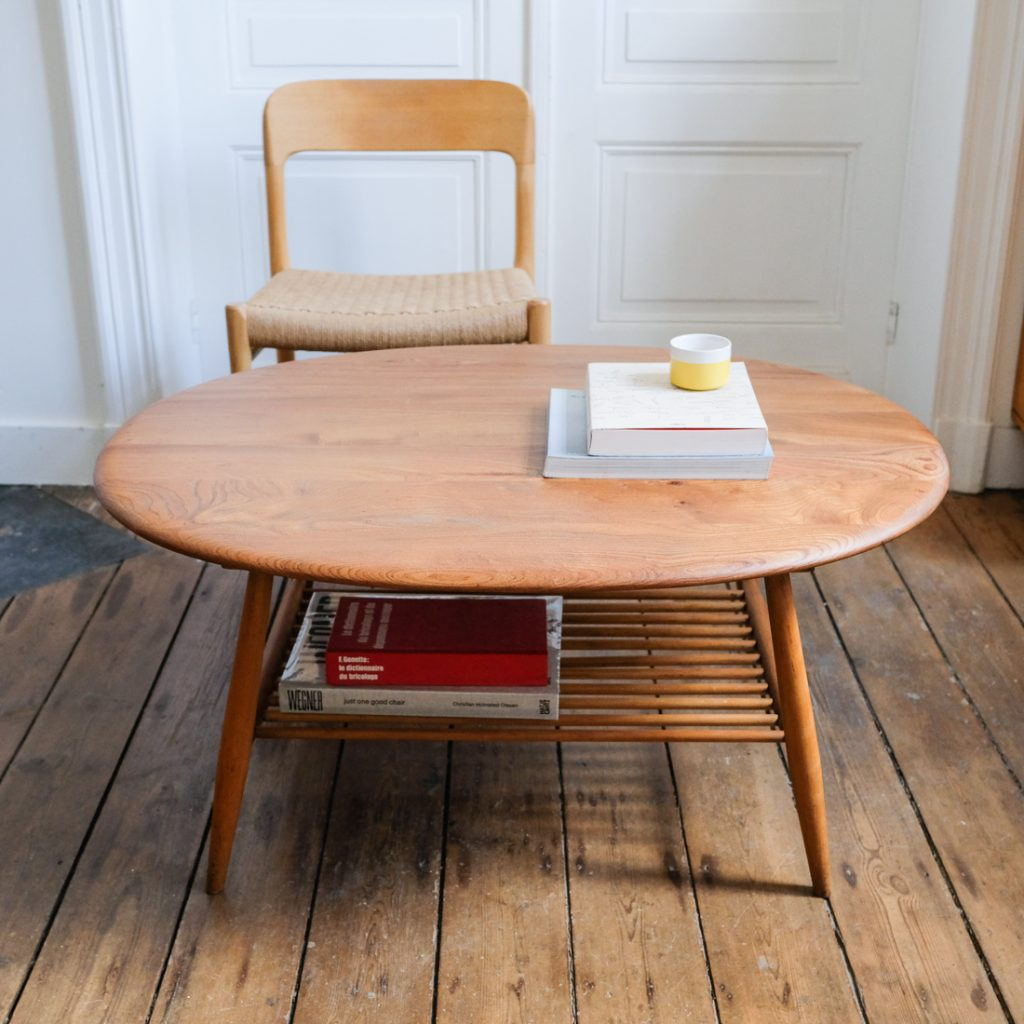 Table basse Ercol ovale
