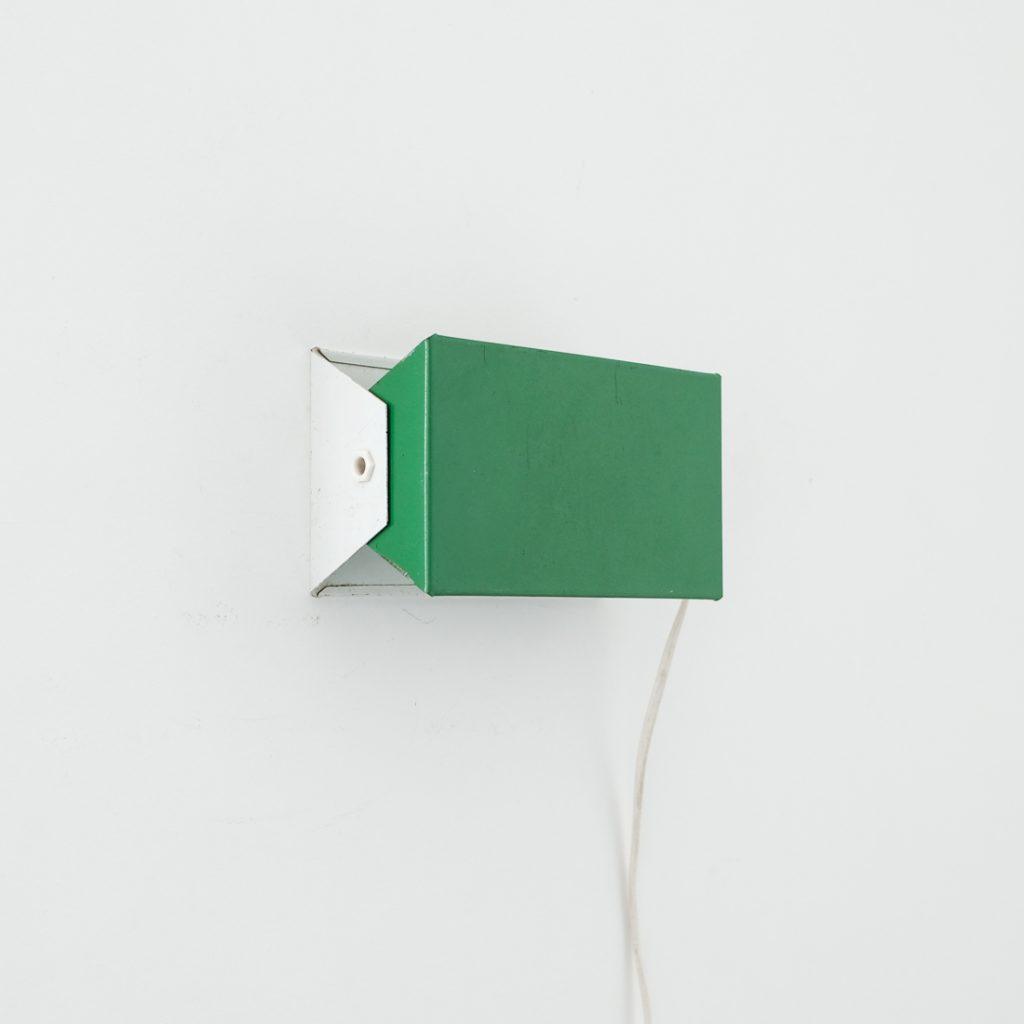 Applique moderniste verte