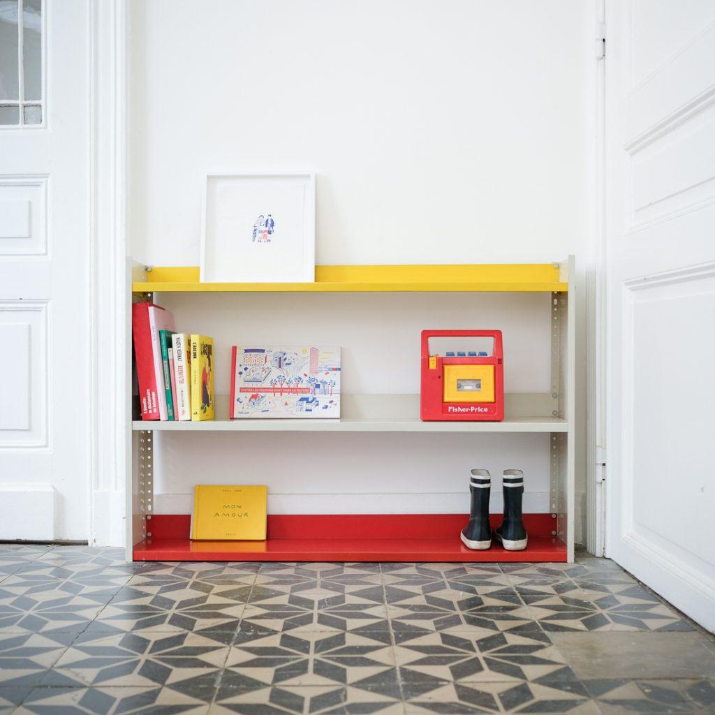 Bibliothèque tricolore