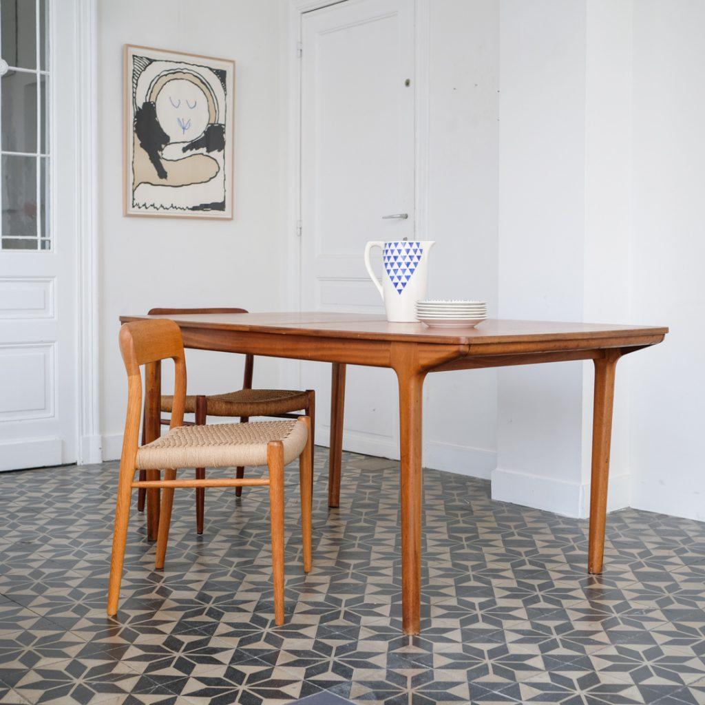 Table McIntosh double rallonge