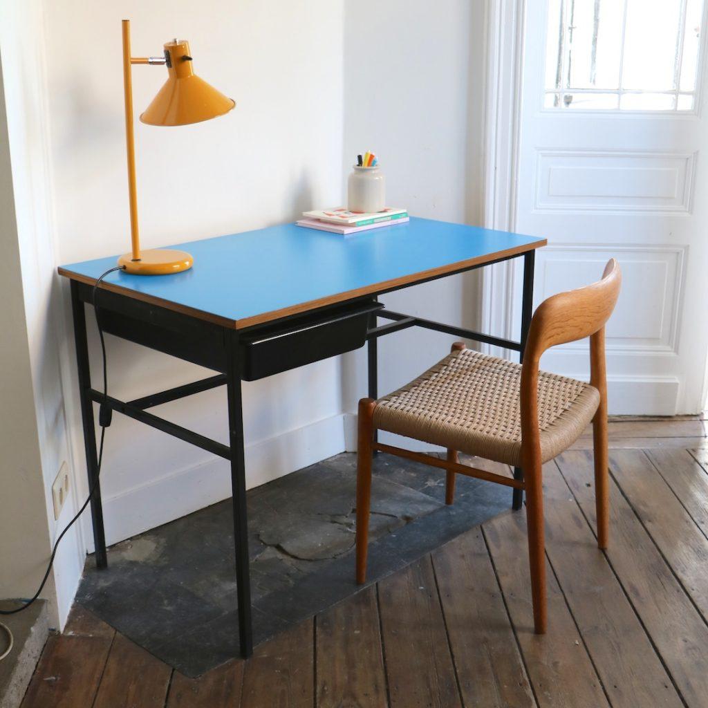Bureau Guariche bleu
