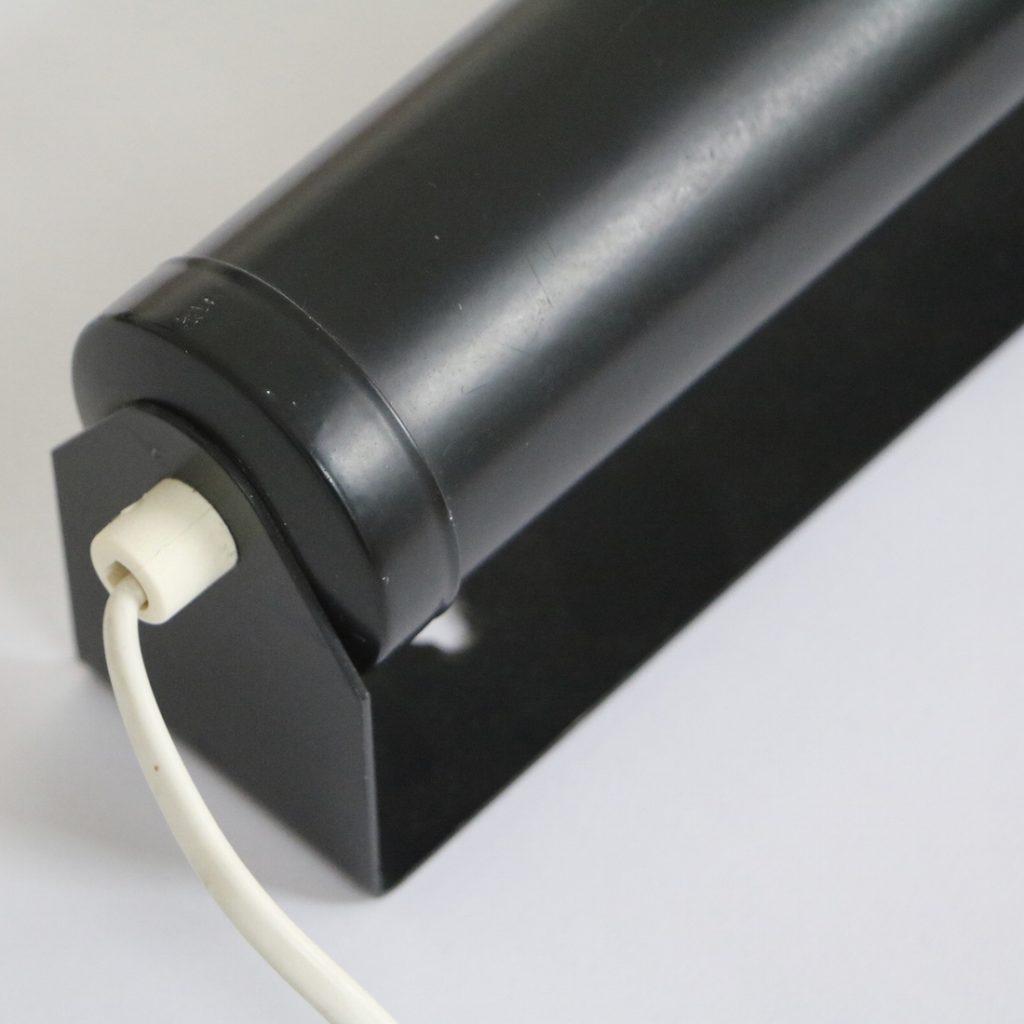 Applique tube noire