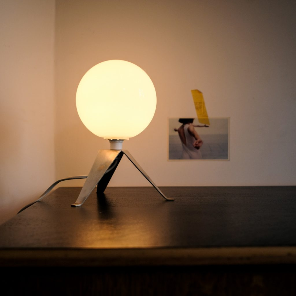 Lampe à poser tripode
