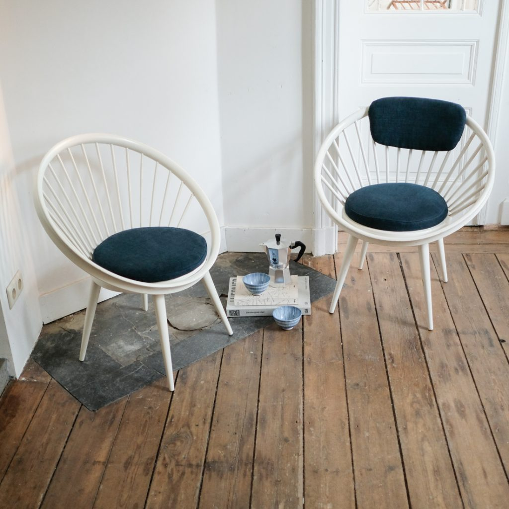 Duo de fauteuils Yngve Ekström