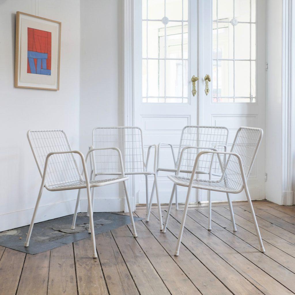 Série de 4 fauteuils EMU