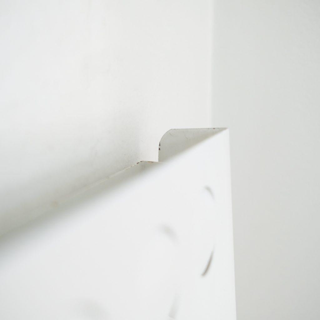 Paire d'appliques noire et blanche