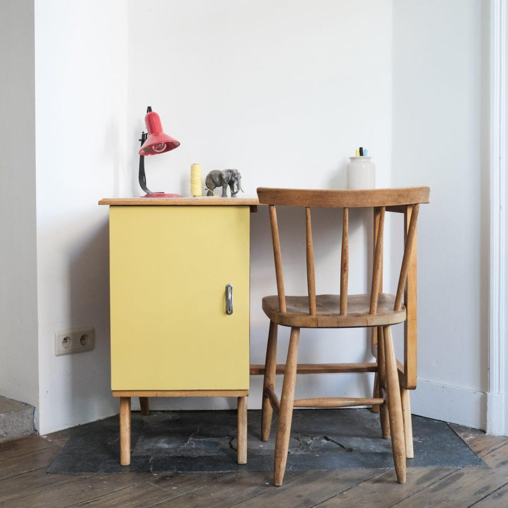 Bureau et chaise '50