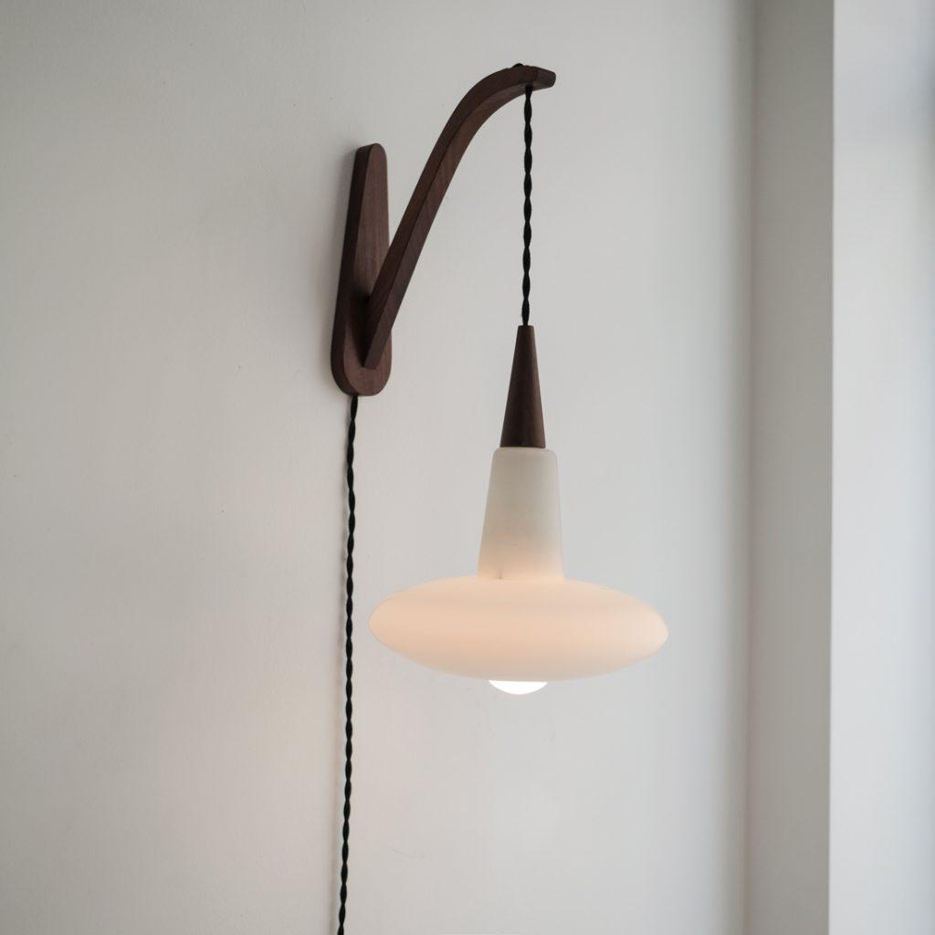 Lampe danoise suspendue