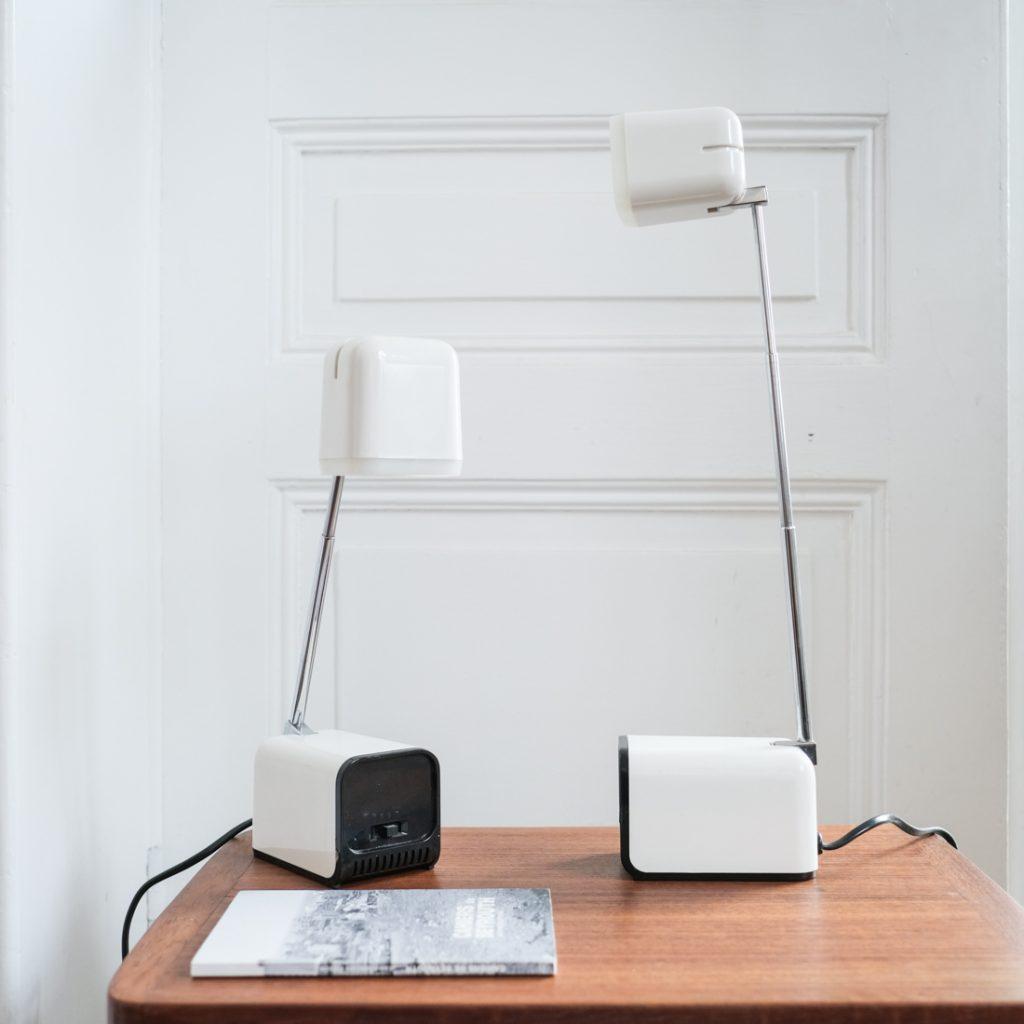Paire de lampes télescopiques
