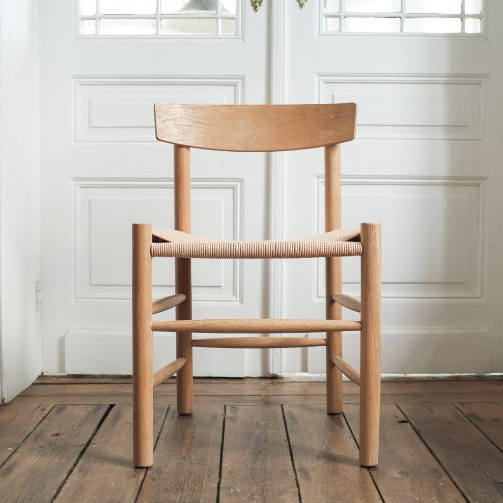 Paire de chaises Borge Mogensen