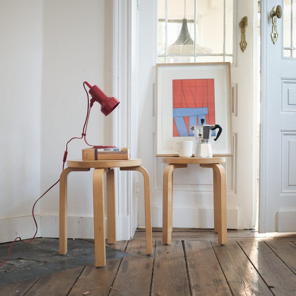 Tabouret Alvar Aalto