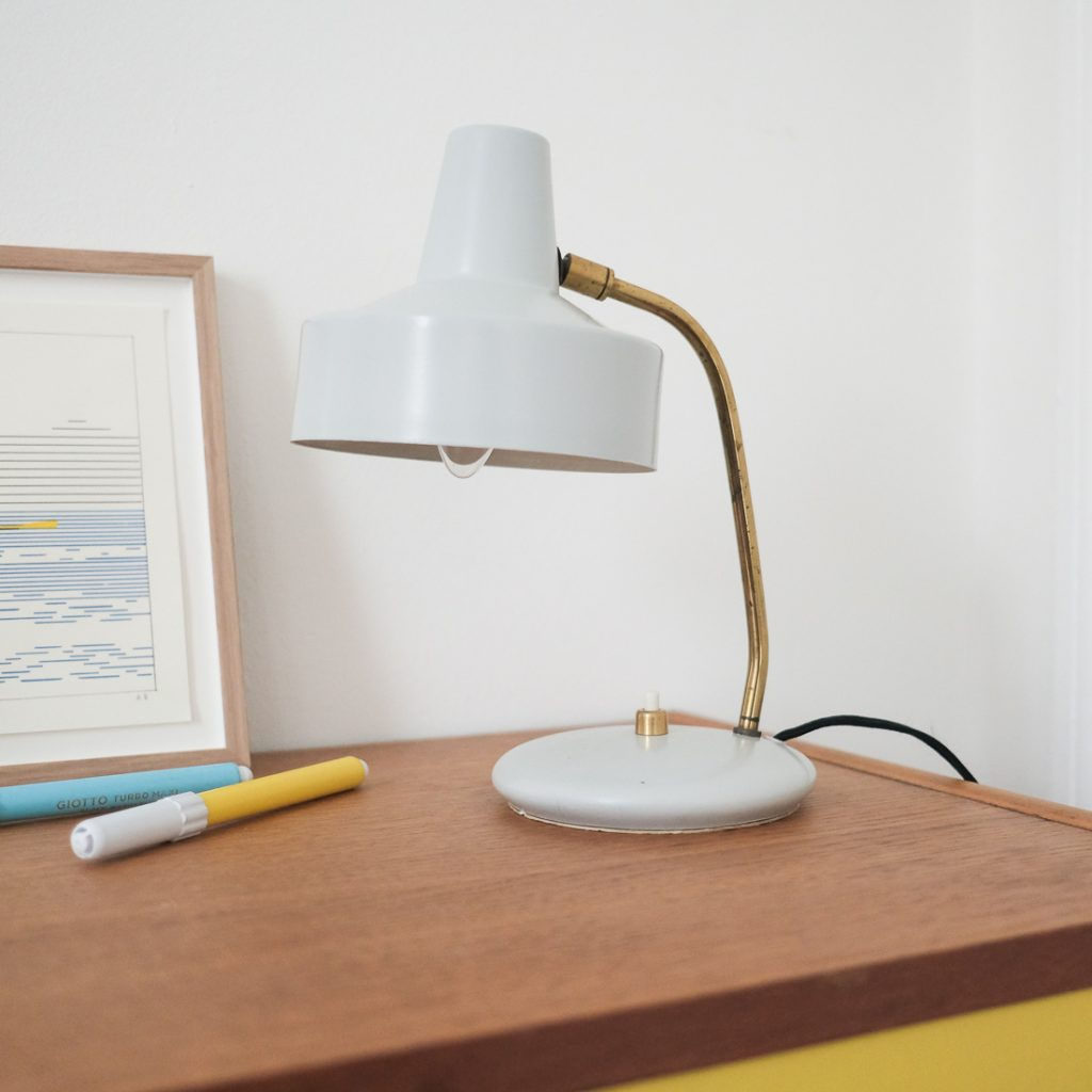 Petite lampe en laiton