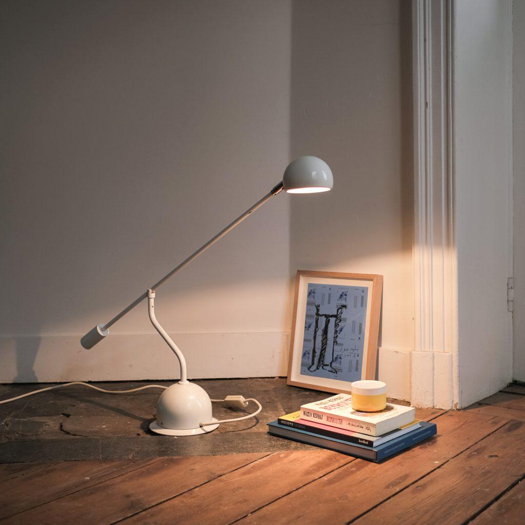 Lampe de bureau à balancier