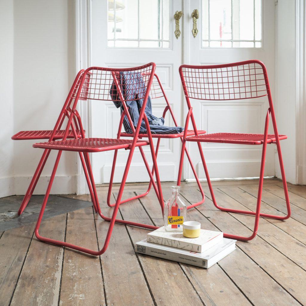 Série de 4 chaises Niels Gammelgaard