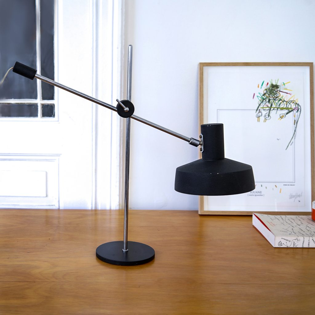 Lampe articulée noire