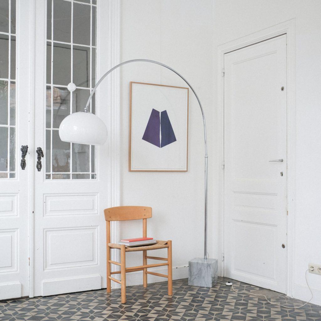 Lampe arc marbre Guzzini