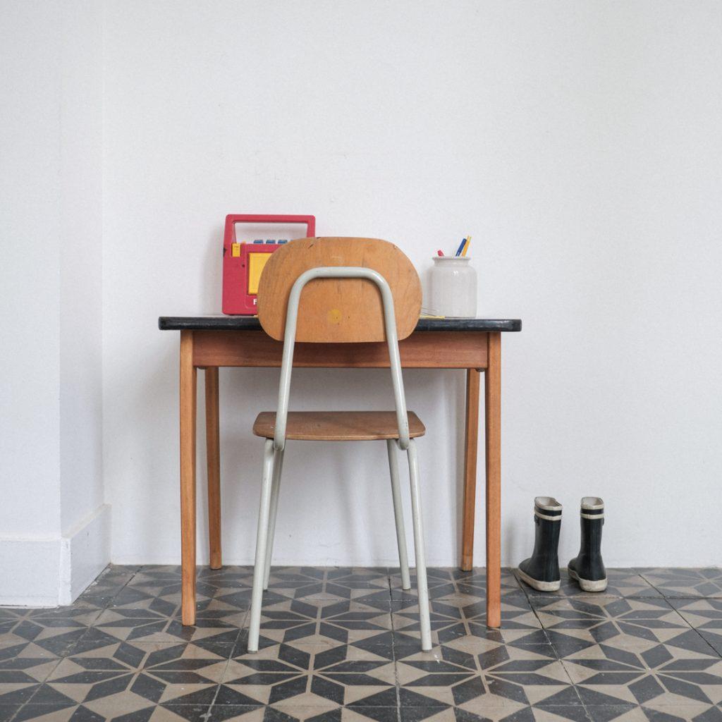 Table et chaise maternelle