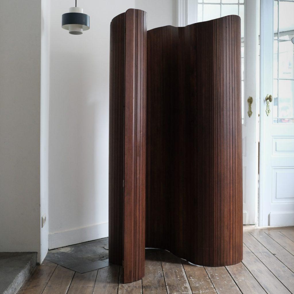 Paravent en bois modulable