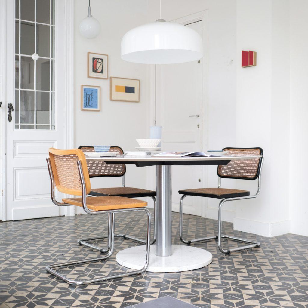 Grande table ronde Alfred Hendrickx