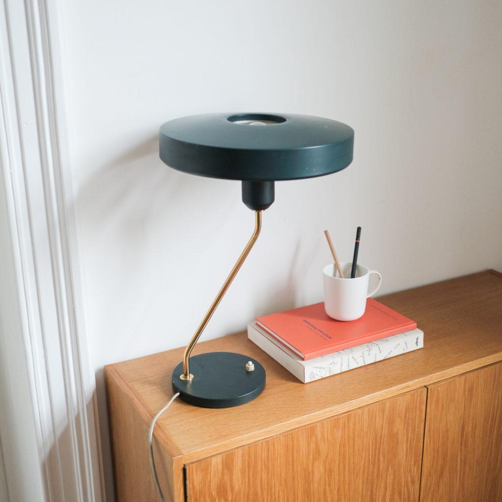 Lampe coupole Louis Kalff pour Philips