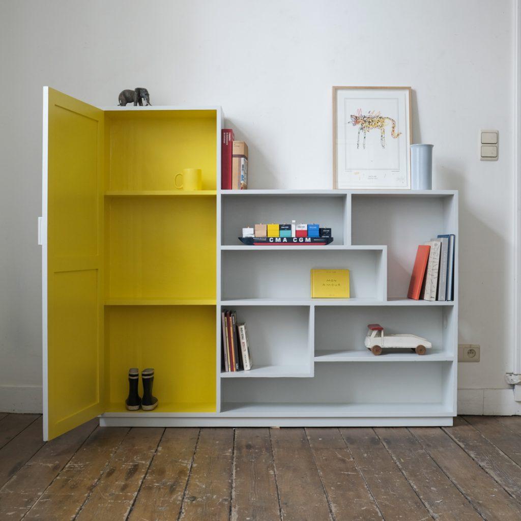 Bibliothèque à casiers