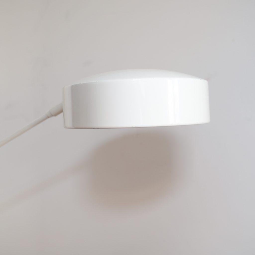 Grande lampe de bureau blanche