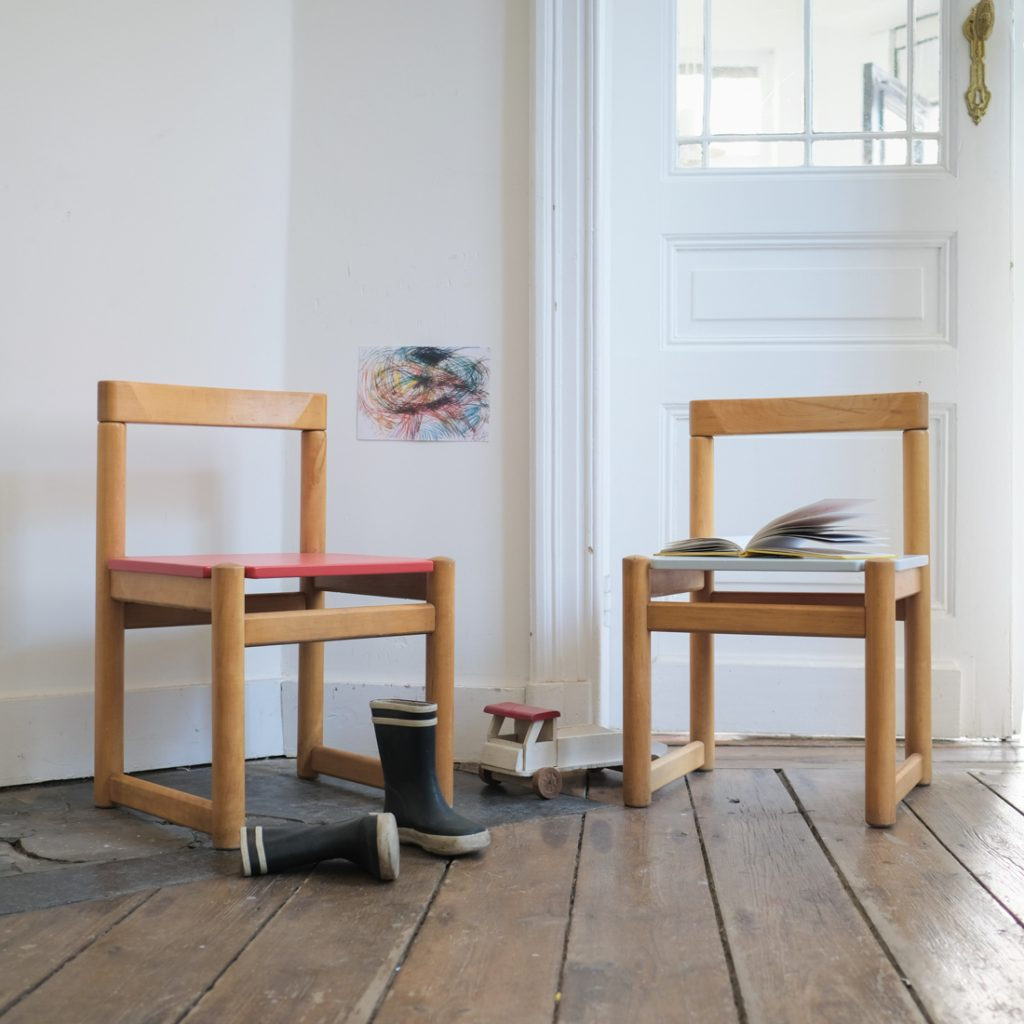 Duo de chaises enfant