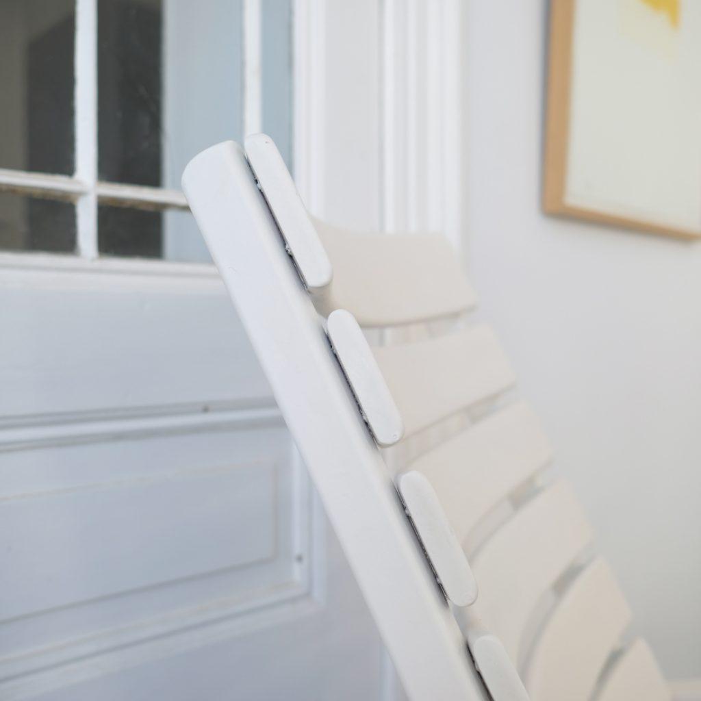 Paire de fauteuils de jardin inclinables