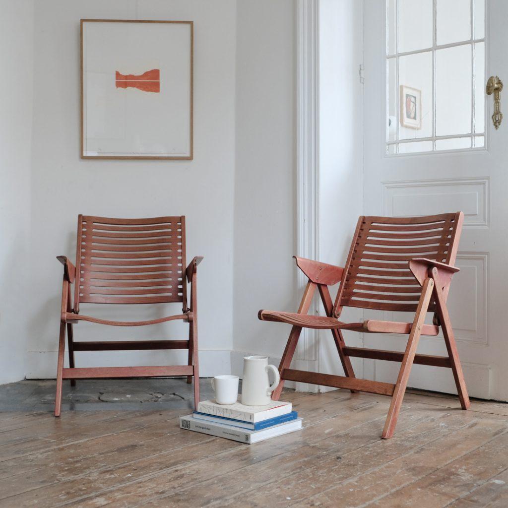 Paire de Rex Chairs